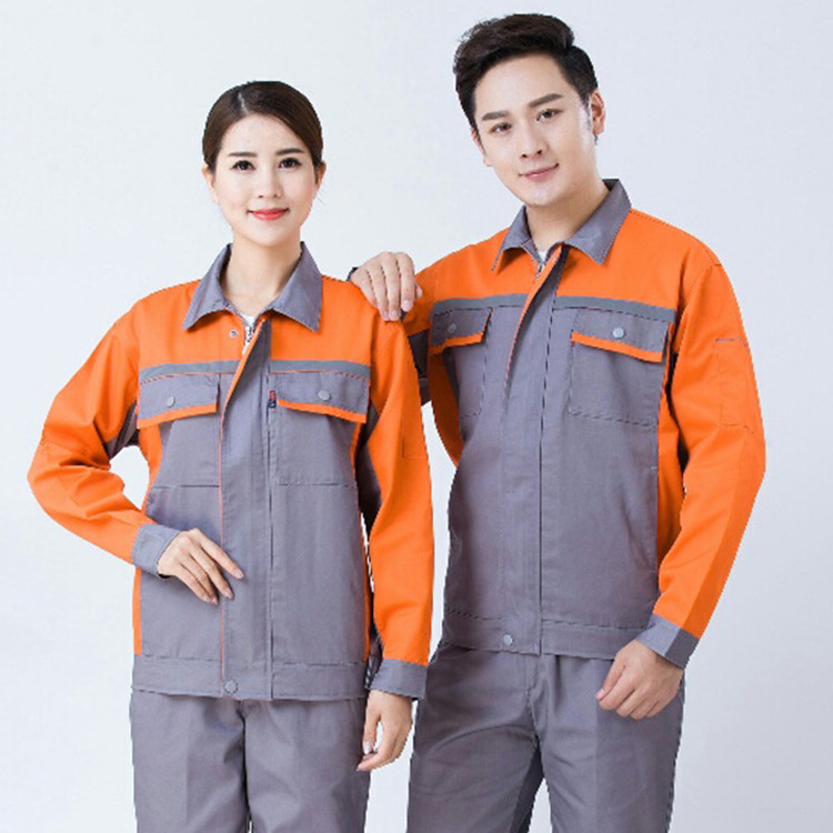 Autumn And Winter Work Clothes Cold Labor Suit Set Candy Four Generations Auto Repair Factory Service Men And Women Work Clothes