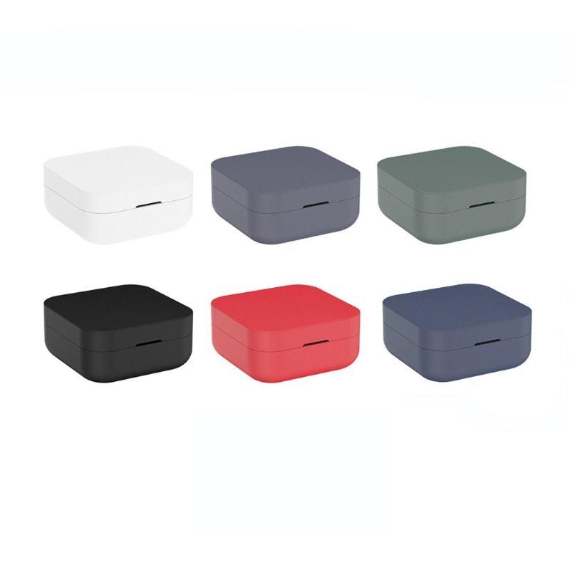 Soild Color for Xiaomi Mi Air2 Air 2 SE Case Silicone Case for Xiaomi Airdots Pro 2 SE True Earphone 2 Basic Headphone Cover