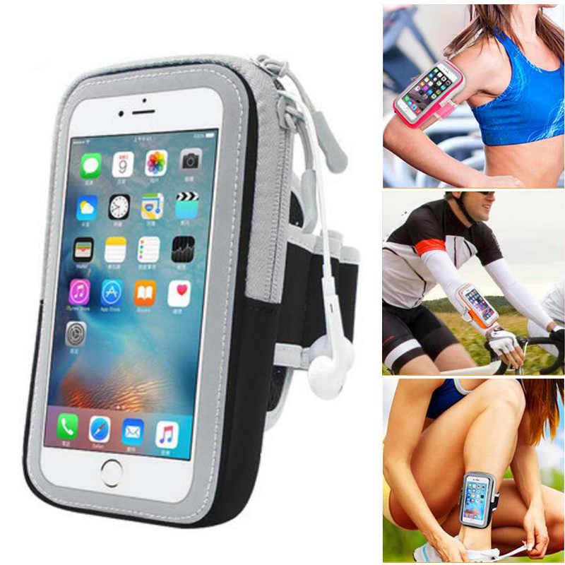 Support pour téléphone Mobile pour Sony Xperia Z1 Z2 Z3 Z4 Z5 sports de course de la coque de téléphone sac à bras universel sous la main