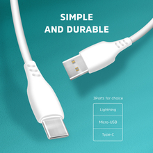 KIVEE 2.1A 1m Data Line Charge USB Type C Cable