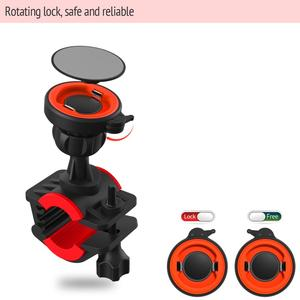 Image 4 - Bicycle Phone Holder For 3.5 6.2 inch Smart phone Adjustable Support GPS Bike Phone Stand Mount Bracket