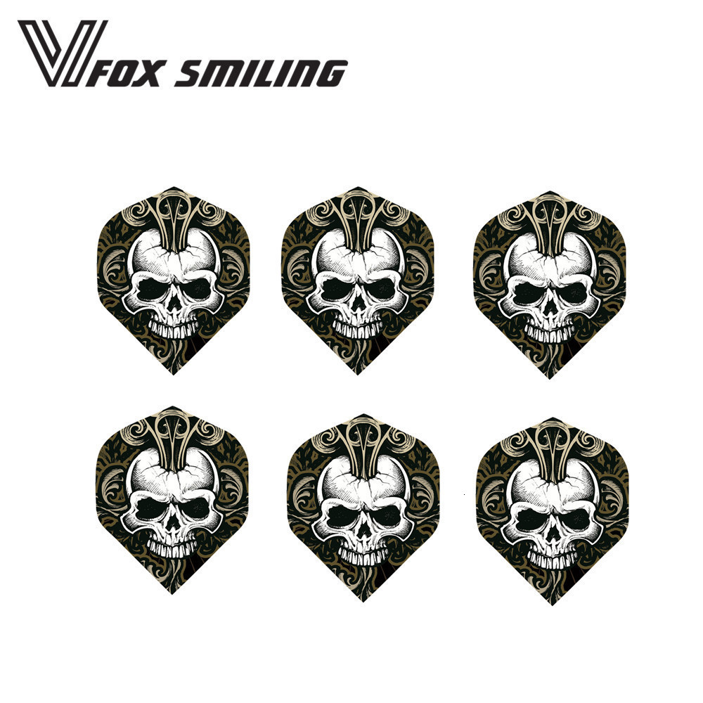 6PCS Cool Darts Flights Feather Wing Mixed Style For Professional Darts Wing Tail Indoor Games