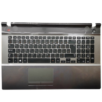 Original NEW for Samsung 500P7C 550P7C NP550P7C NP500P7C Laptop Palmrest Upper Case With keyboard Touchpad 95%new for hp pavilion 15 au 15 aw 15 al tpn q172 tpn q175 laptop palmrest upper case us keyboard touchpad 856040 001 eag3400409