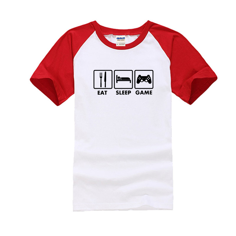 cotton t shirts red