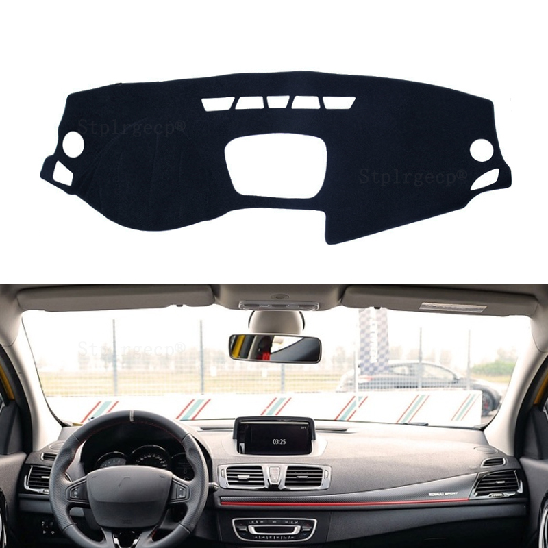 For Renault Megane 3 III MK3 2008 - 2015 Coupe CC GT Dashboard Cover Sun Shade Non-slip Dash Mat Pad Carpet Interior Accessories
