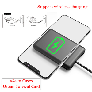 Image 3 - Urban Survival Card Multi Functionข้อมูลสายการแปลงไร้สายCharger Universal Universalกระเป๋าเก็บกระเป๋าแบบพกพา