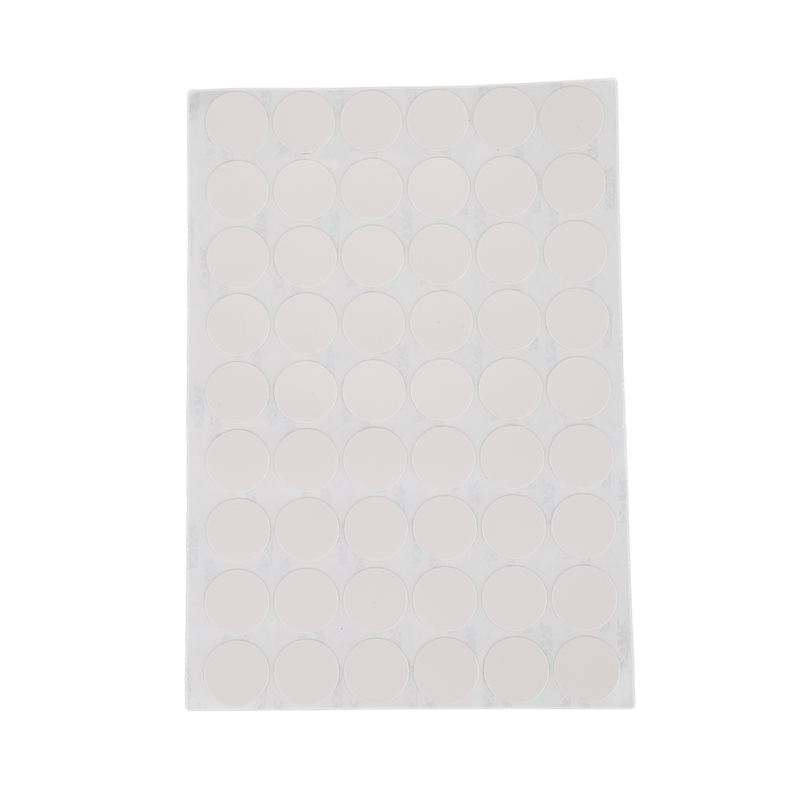 Promotion! Wardrobe Cupboard Self-adhesive Screw Covers Caps Stickers 54 in 1 White