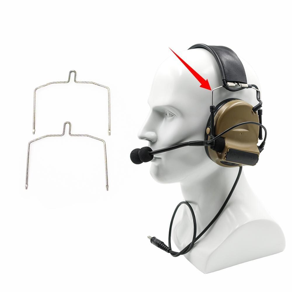 Купить с кэшбэком Tactical Airsoft COMTAC Series Headset's Accessories of Fixing Bracket Kit for Peltor Comtac I II IIIHeadset Hunting Accessories