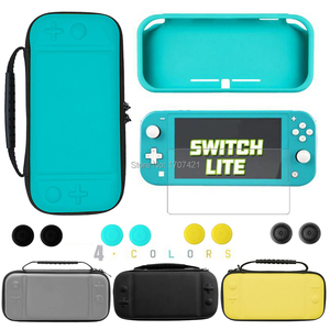 Image 1 - NEW For Nintend Switch Lite Skin Cover Case Protective Storage Bag For Nintendo Switch Mini Console Carrying Cases