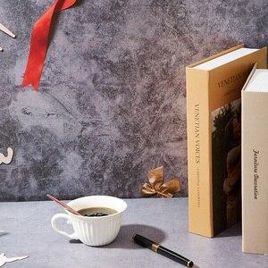 Аксессуары для фотостудий 58X86cm 2 кристалла по бокам для фотосъемки с изображением Водонепроницаемый Мрамор фон для реквизит для фотосессии фото Рождественская художественная Бумага
