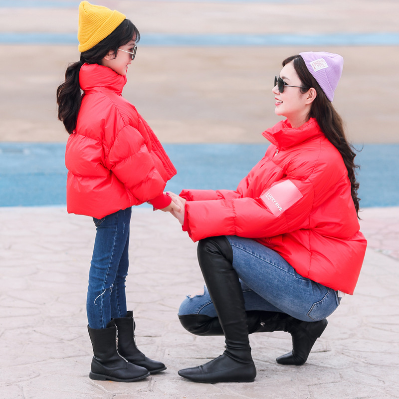 Mommy Me Outfits Clothes,Fashion Jackets Hood Fall Winter Long Sleeve Hooded for Women Baby Girls Matching Jacket Coats