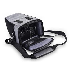 Image 3 - DSLR Camera Bag Case For Nikon D3400 D3500 D5600 D7500 P900 S Canon 1100D 200D 750D 80D T6 Lens Pouch Shoulder Package