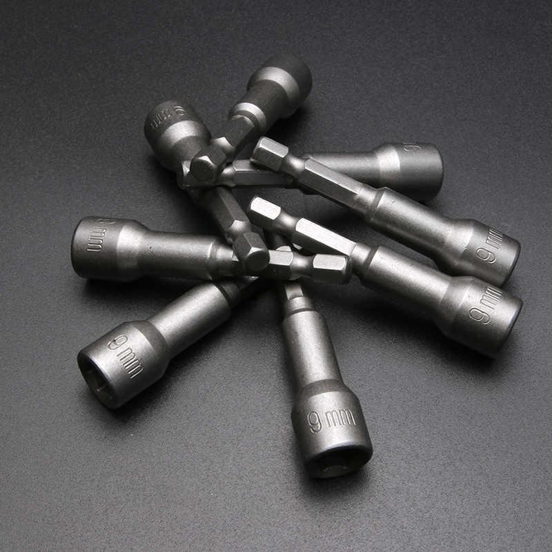 Laoa Hexagon Sockets Magnetische Elektrische Socket Bits 6-19 Mm