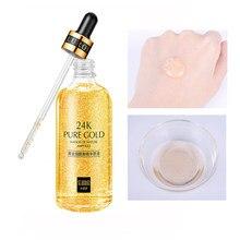 24k ouro nicotinamida soro pele hidratante profunda anti envelhecimento face lifting endurecimento anti rugas clareamento cuidados com a pele essência 15ml