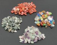 1200 г оптовая продажа 6 видов Декоративных гальванических камней