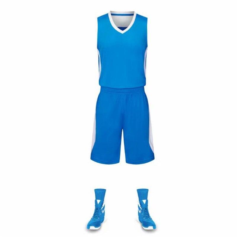 ילדים ומבוגרים כדורסל גופיות סט לנשימה צוות ספורט חליפת מדים גופיות תחרות כדור גופיות מותאם אישית שם מספר