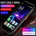 Soyes suoyo S10 новый персонализированный мини-смартфон с тремя оборонами военный все Netcom 4G Android NFC внутренняя связь