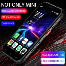 Soyes suoyo s10 novo mini personalizado três defesa telefone inteligente militar todos netcom 4g android nfc intercom