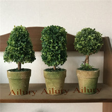 High15cm,Simulation green plant potted,artifical bonsai,partition,small green tree window decoration.Xmas gift,christmas