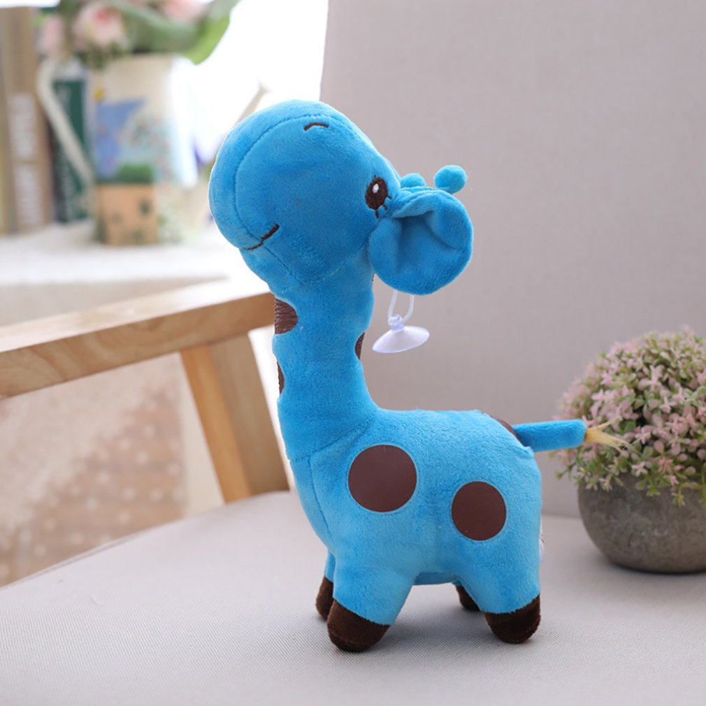 18cm Cute Plush Giraffe Soft Toys Animal Dear Doll Baby Kids Children Christmas Birthday Happy Colorful Gifts Cartoon Animal Toy