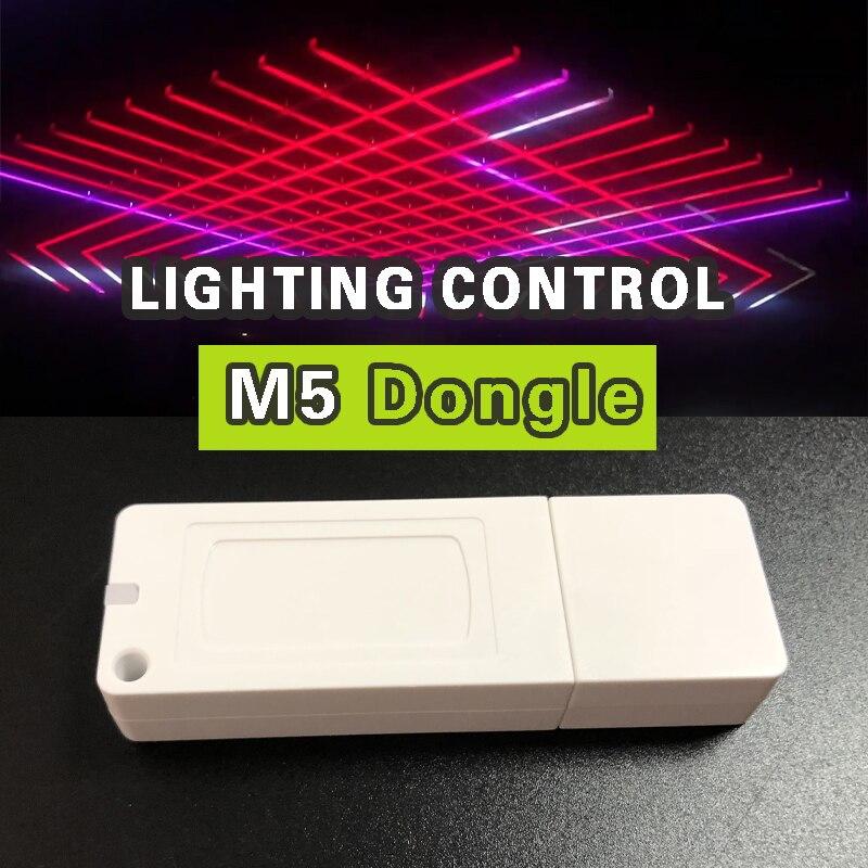 DMX управление LER USB диско светильник сценсветильник освещение LED DMX интерфейс профессиональное управление светом M5 ключ и программное обеспе...