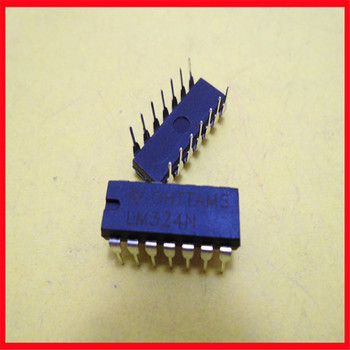 LM324 universal operational amplifier into circuit brand new original straight plug image
