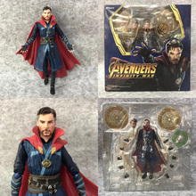 SHF Movie Avengers 4 Endgame Infinity War Doctor Strange PVC Action Figure Collectible For Kids Toys single sale 41 cm iron man series movie thanos resin action figure kids adults collectible toys garage kit toy movie character
