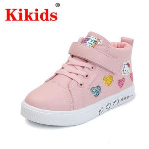 KIKIDS Shoes Boys Sneakers Boys Girl Sneaker 2020 Spring Autumn Shoes Children Toddler Baby Soft Breathe Hook Walking Shoes