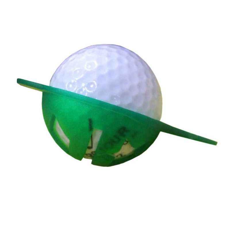 ゴルフボールライナーマーカーポータブルプラスチック線画マーキングテンプレートアライメント識別ツールゴルフボールライナークリップ