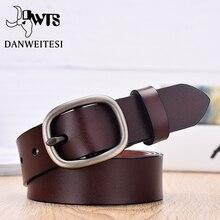 【DWTS】 женский ремень, Модный женский ремень, ремень из натуральной кожи для женщин, женские ремни с пряжкой, Необычные винтажные ремни для джинсов