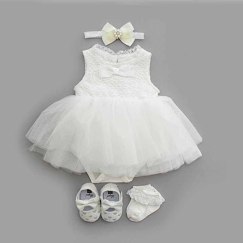 NewBorn baby girls clothes dresses cotton princess baby baptism dress infant wedding christening dress vestidos 0 3 6 months