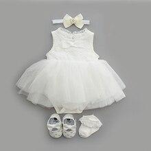 NewBorn baby girls clothes dresses cotton princess baby baptism dress infant wedding christening dress vestidos 0 3 6 months