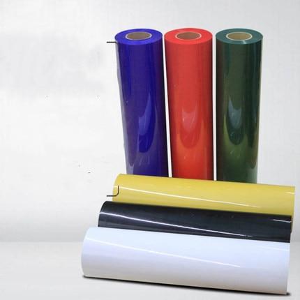 Free shipping 1 sheet30cmx100cm flex PU  Heat Transfer Vinyl Flexible high elasticity Iron On HTV Film DIY