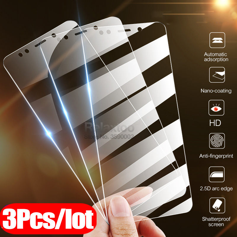 3pcs Protective Glass Honor 7A Dua-L22 5.45 Screen Protector Film For Huawei Honor 7A Pro AUM-AL29 5.7 Tempered Glass Honer 7 A