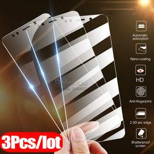 3pcs Protective Glass Honor 7A Dua-L22 5.45 Screen Protector Film For Huawei Honor 7A Pro AUM-AL29 5.7 Tempered Glass honer 7 a(China)