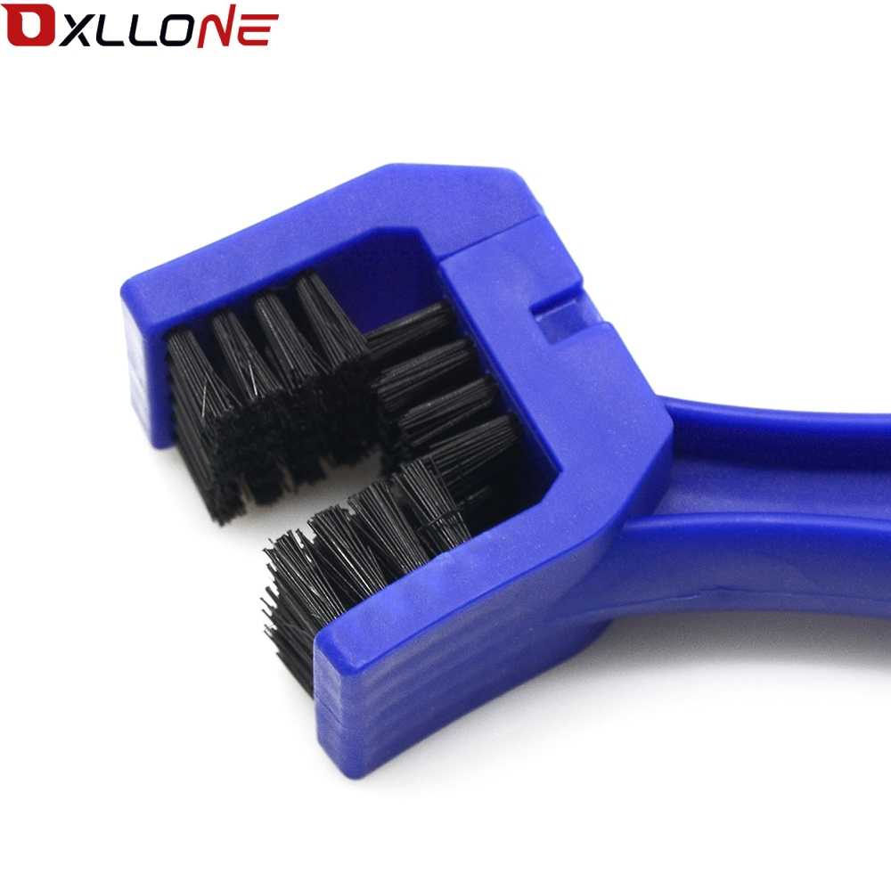 UNIVERSAL MOTORCYCLES BIKE BICYCLE CHAIN CLEAN BRAKE BRUSH CLEANING GEAR REMOVER CLEANER FOR HONDA NC750S MT CB500X CB500X ABS