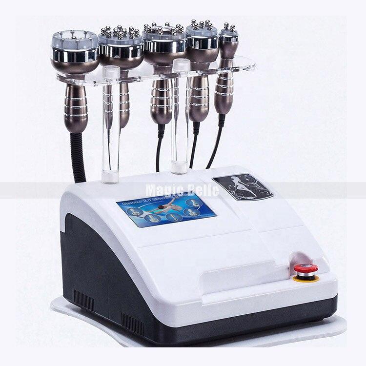 Ultradźwiękowy kawitacja próżniowa RF Lipo Laser odchudzanie ciała maszyna 80k tłuszczu kawitacji liposukcja ultradźwiękowa urządzenie podnoszące z CE