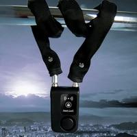 Alarm Anti Theft Control Waterproof Lock Smartphone Chain Bicycle Bluetooth Smart