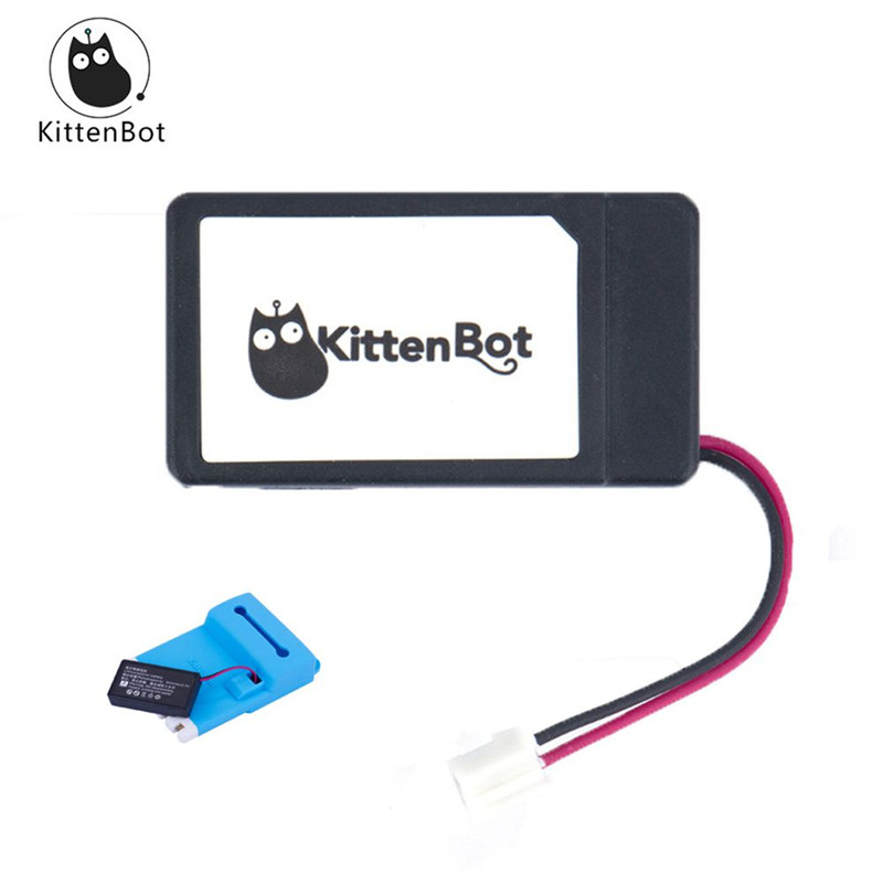 Original Kittenbot <font><b>3.7V</b></font> <font><b>400mAh</b></font> 1S <font><b>Lipo</b></font> <font><b>Battery</b></font> For Kittenbot FPV Racing Drone/RC Robot Car Spare Part DIY Accessories image