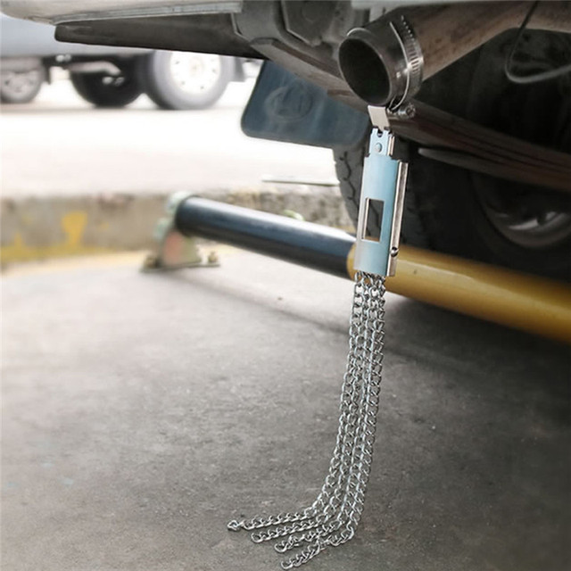 Car Mounted Electrostatic Eliminator Earthing Strip Human To Static Electricity  Car For In Addition To Anti-static Belt