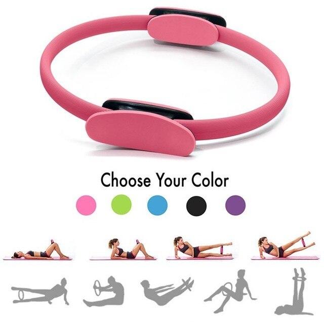 Yoga Ring Sports Training Ring Women Fitness Kinetic Resistance Circle Portable Home Gym Workout Yoga Pilates Circle 1
