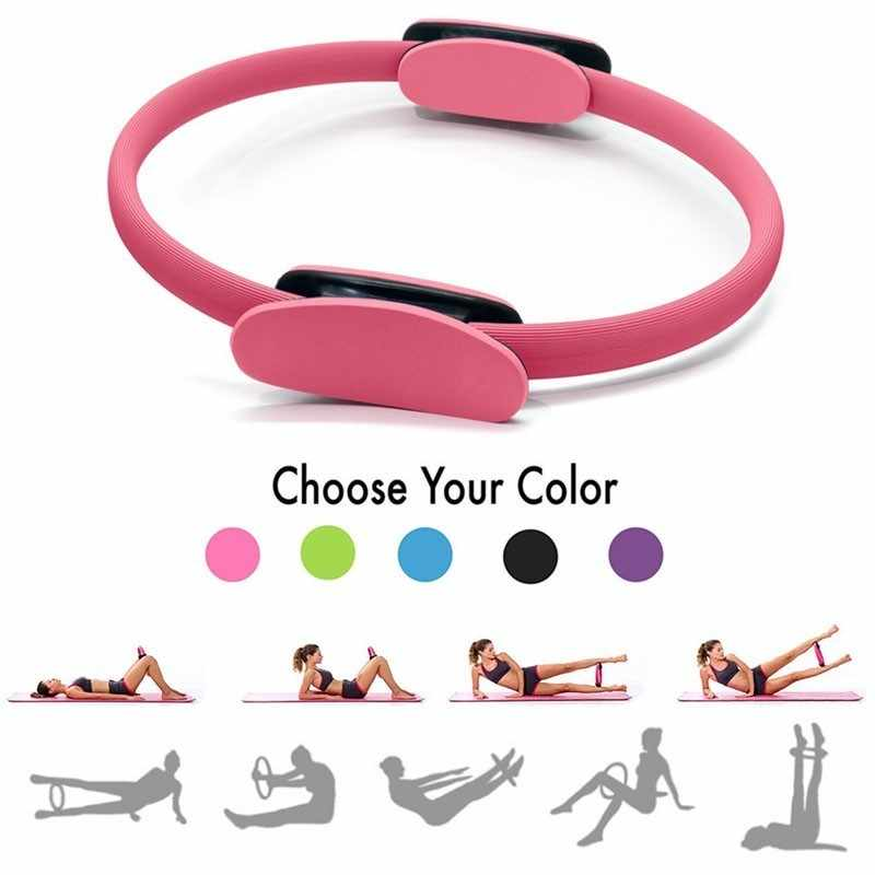 Yoga Ring Sport Training Ring Vrouwen Fitness Kinetische Weerstand Cirkel Draagbare Home Gym Workout Yoga Pilates Cirkel