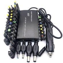 Uniwersalny 5V 12V 15V 16V 18V 19V 20V 22V DC 24V zasilanie prądem zmiennym adapter regulowana ładowarka domowa USB5V zasilacz 100W 5A Laptop
