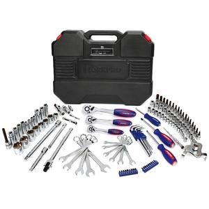 Image 2 - WORKPRO 123PC zestaw narzędzi do naprawy samochodów narzędzie mechaniczne zestawy wkrętaki klucz zapadkowy klucze gniazda