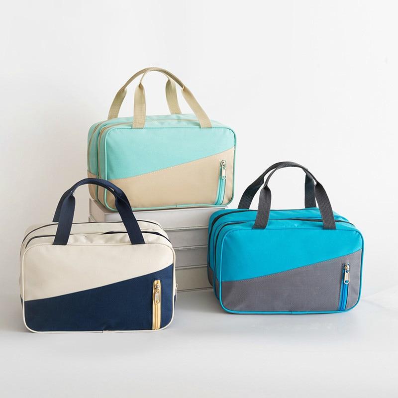 Women Makeup Pouch Waterproof Purses Capacity Outdoor Sport Beach Cosmetic Make Up Travel Organizer Mini Bag Handbag