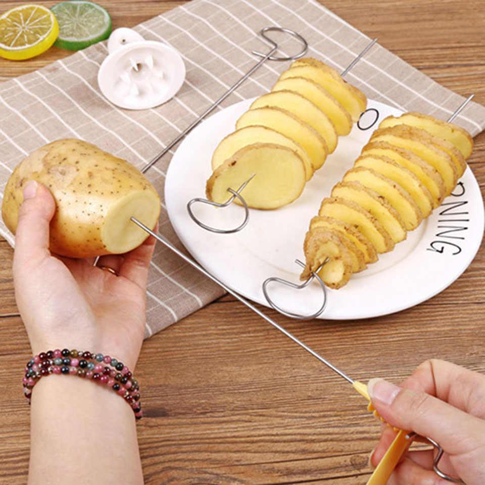 Transhome תפוחי אדמה ספירלת קאטר ספירלת מבצע שבבי פרסטו 4 יורק מגדל תפוחי אדמה טוויסט ביצוע מגרסה בישול כלים