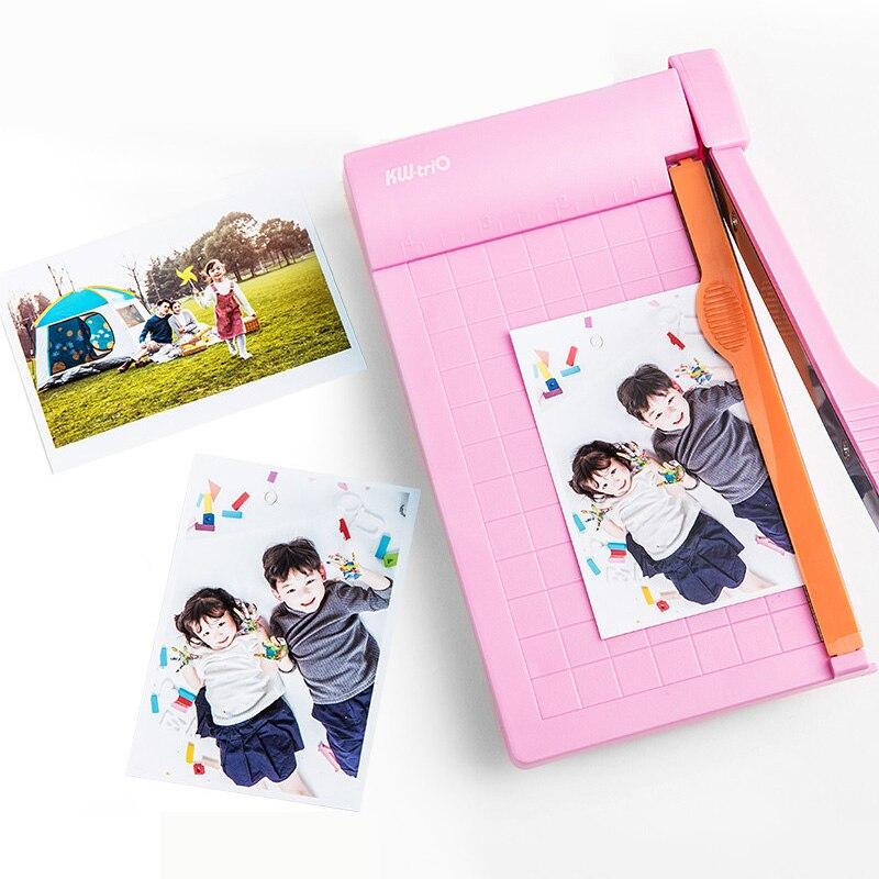 a5 portatil aparador de papel 1 6 polegada foto papel guilhotina regua embutida cortador de papel