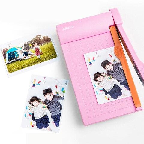 a5 portatil aparador de papel 1 6 polegada foto papel guilhotina regua embutida cortador de