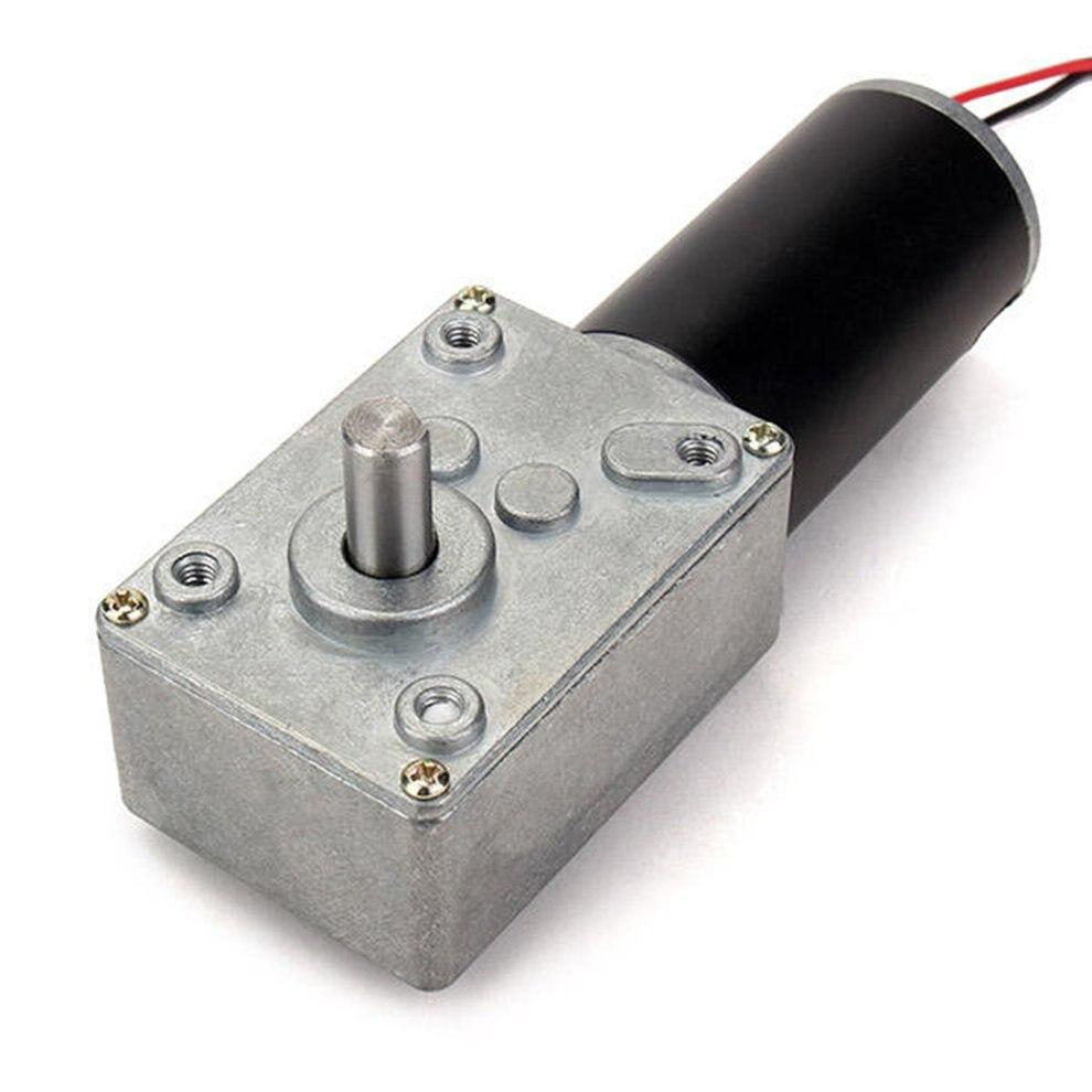 GW31ZY دودة المخفض والعتاد موتور تيار مباشر عزم دوران عالية منخفضة السرعة موتور تروس-14 RPM