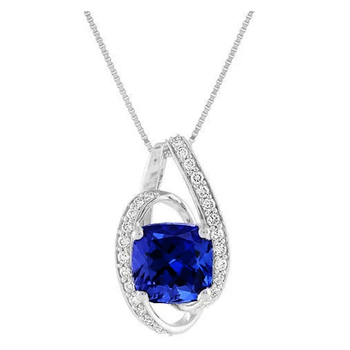 Huitan 2021 Modern Women's Necklace Brilliant Cubic Zirconia Wedding Engagement Party Bridal Accessories High Quality Jewelry 1